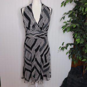 Evan Picone Halter Fit & Flare Summer Dress